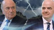 Sepp Blatter und Gianni Infantino. (Montage)