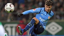 Kai Havertz von Bayer Leverkusen © imago/Team 2