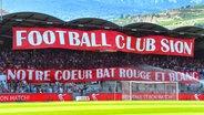 Banner des FC Sion © imago Foto: F. Dubuis